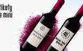 Vlastní etikety na víno – narozeniny, svatby, pro firmu